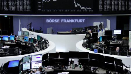 Bolsas europeas en baja al comienzo de la semana