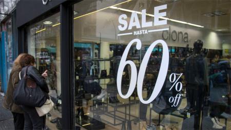 Las ventas minoristas bajaron 9,8% en junio y es la mayor caída del año