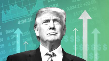 """Bolsas en alza: ¿El """"rally Trump"""" tiene fundamentos?"""